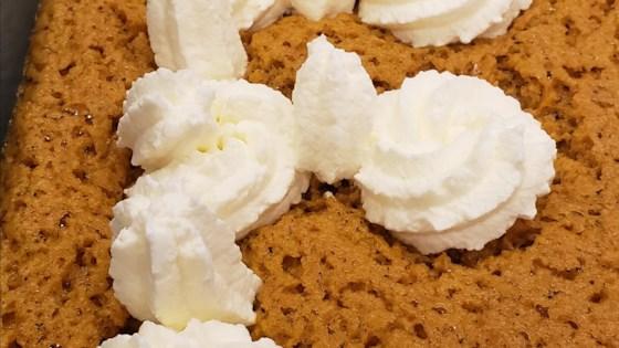 Photo of Pumpkin Chiffon Slab Pie by MrsWheelbarrow