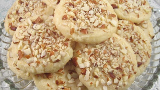 amaretto shortbread cookie review by kit1