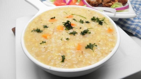 Photo of Instant Pot® Lentil and Rice Soup by estezz