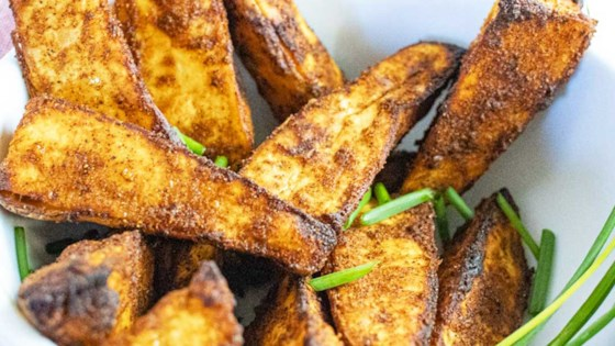 Crispy Sweet Potato Wedges Recipe