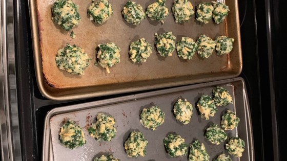 Photo of Spinach Appetizers by DIANE HALL