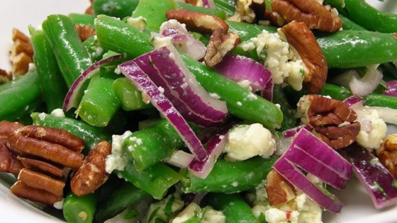 Photo of Green Bean Blue Cheese Salad by Melanie