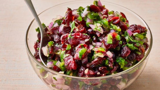 Photo of Cranberry-Jalapeno Relish by Donna Lasater