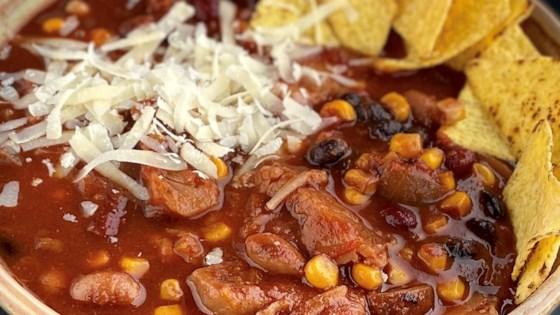 Photo of Instant Pot® Vegan Chili con Yaca by Buckwheat Queen