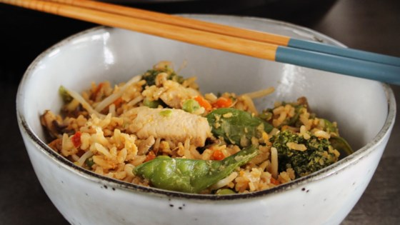 Photo of Instant Pot® Chicken Fried Rice by Buckwheat Queen