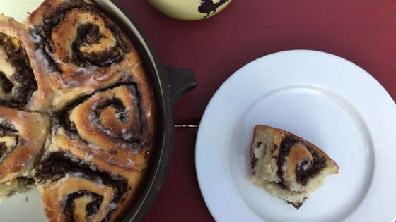 Photo of Yeasted Poppy Seed Apple Buns by nch