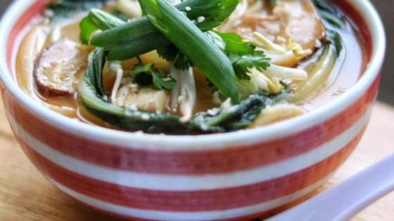Photo of Chicken Udon Noodle Soup by Erin
