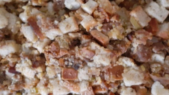 Photo of Southern Italian Thanksgiving Stuffing by Briana