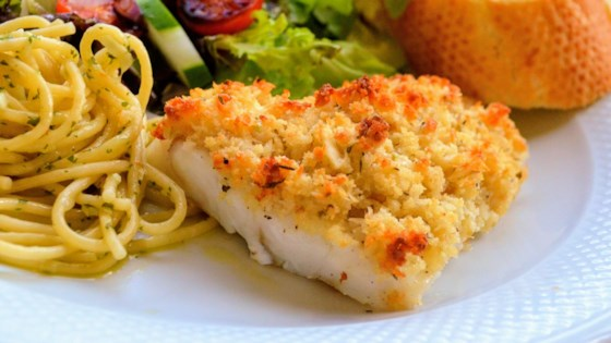 Photo of Crunchy Pecorino Baked Cod by Diana Moutsopoulos