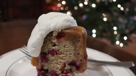 Photo of Nanny's Steamed Cranberry Pudding by PISADL