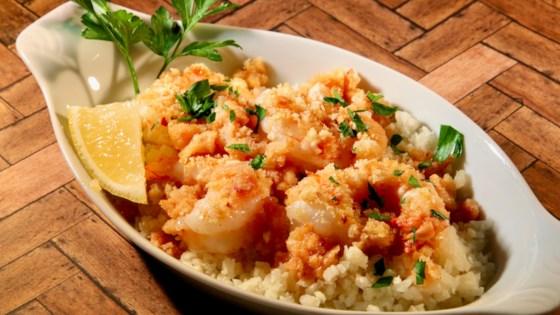 Photo of Lighter Baked Shrimp Scampi by lutzflcat