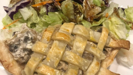 Photo of Meatless Mushroom Tart by Stephanie V