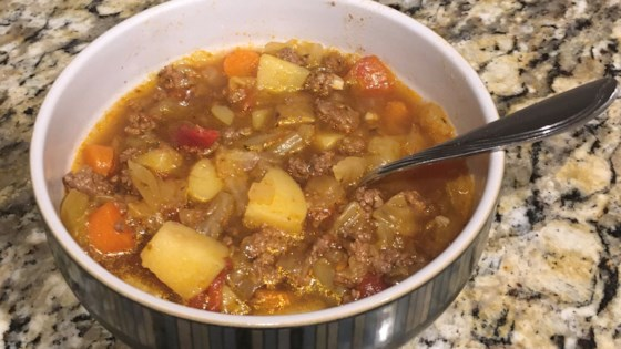 Photo of Instant Pot® Cabbage and Beef Soup by alievanleuven