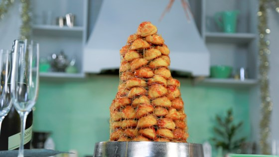 Photo of Croquembouche Cone by Smart Cookie
