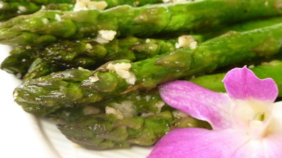 Photo of Asparagus with Parmesan Crust by Kimber
