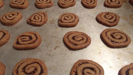 orange date pinwheel cookies review by shirley benner
