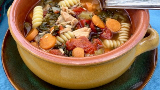 Photo of Instant Pot® Turkey Soup with Pasta and Vegetables by Bibi