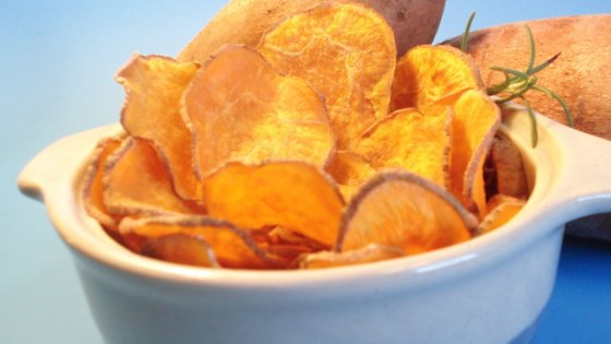 Photo of Cinnamon Sweet Potato Chips by chunker
