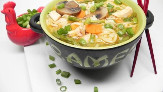 Photo of Instant Pot® Jazzed-Up Instant Ramen Noodle Soup by Soup Loving Nicole