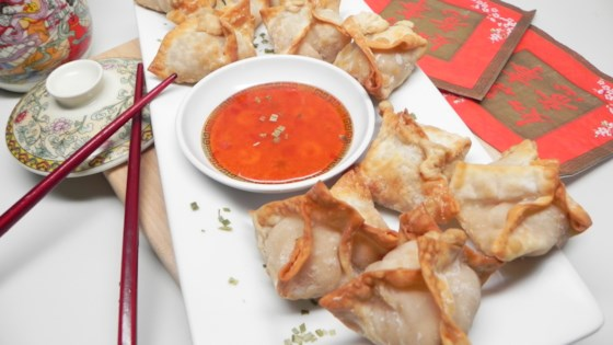 Photo of Air Fryer Crab Rangoon by Soup Loving Nicole