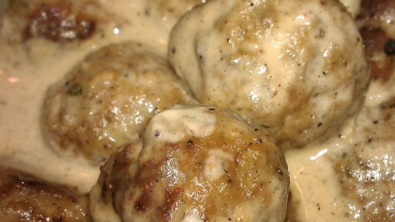 Dana's Famous Swedish Meatballs