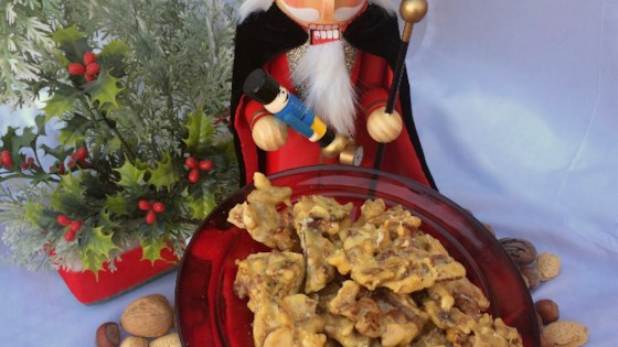 "Photo of ""Nutcracker"" Mixed-Nut Brittle in the Microwave by Bibi"