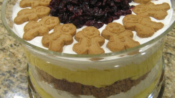Photo of Eggnog Gingerbread Trifle by Jen Graham