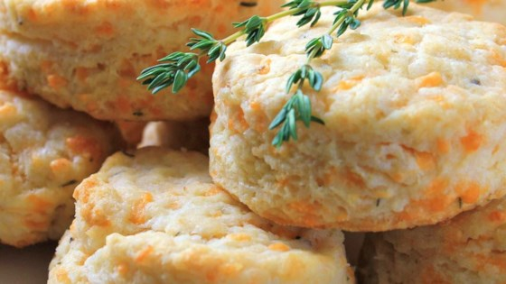 Photo of Cheddar-Thyme Flaky Biscuits by laura902