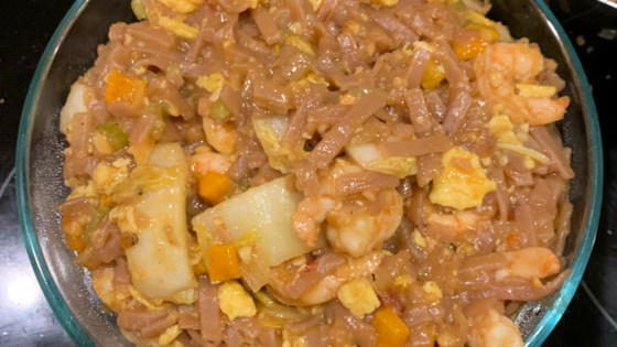 My Husband's Pad Thai Noodles Recipe