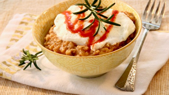 Photo of Instant Pot® Savory Sriracha Oatmeal by lutzflcat
