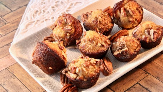 Photo of Honey-Pecan Mini Muffins by lutzflcat