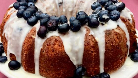 Photo of Lemon-Blueberry Bundt® Cake by Bibi