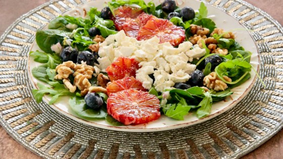 Photo of Blood Orange, Blueberry, and Feta Salad by lutzflcat