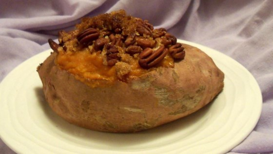 Photo of Stuffed Baked Sweet Potatoes with Pecans by michellej