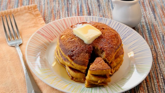 Photo of Buttermilk Pumpkin Pancakes by Jessica Bosly