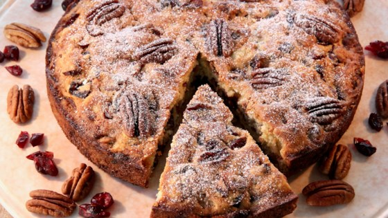 Photo of Cranberry-Pecan Coffee Cake by lutzflcat