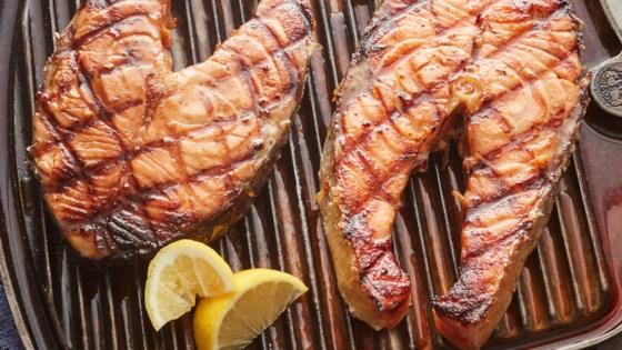 Photo of Charbroiled Salmon by Alan Harasimowicz
