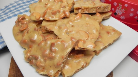 Photo of Microwave Cashew Brittle by Marie Berron