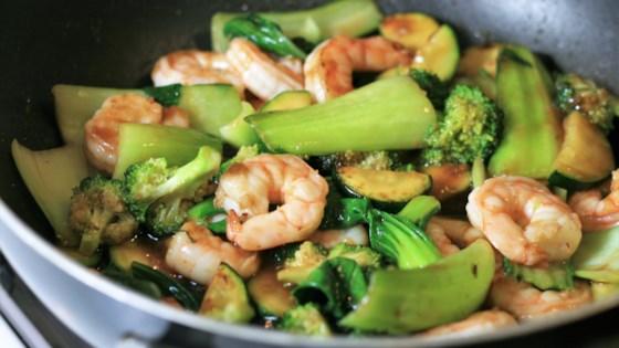 Photo of Teriyaki Shrimp and Vegetable Stir-Fry by Marcia