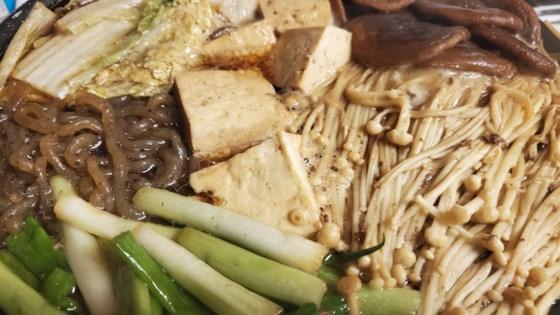 traditional beef sukiyaki review by katrina otero