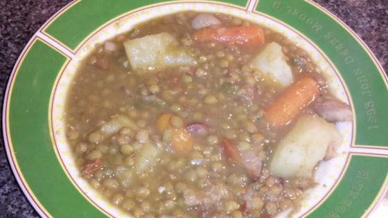 Photo of Sopa de Lentejas (Andalucian Lentil Soup) by Vanessa Moore