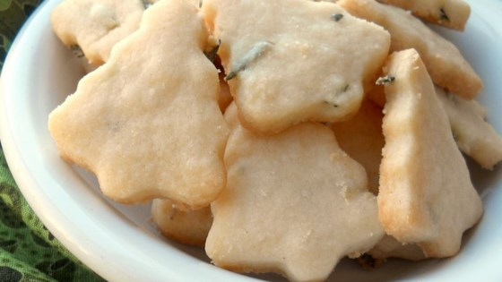 Photo of Rosemary Shortbread Cookies by Abigail