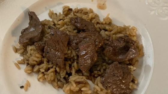 Photo of Beef Pepper Steak by Marla