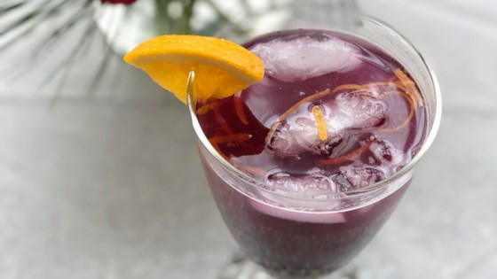Photo of Blueberry-Ginger Fizz by Kim's Cooking Now