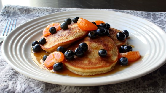 Photo of Almond Meal Pancakes by Chef John