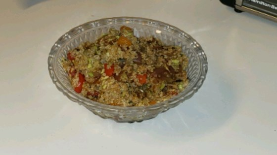 Photo of Protein-Packed Spicy Vegan Quinoa with Edamame by HeidiM