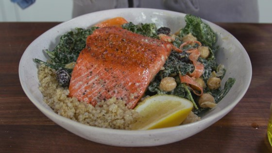 Photo of Salmon Quinoa Bowl by TheOtherJuliaGulia
