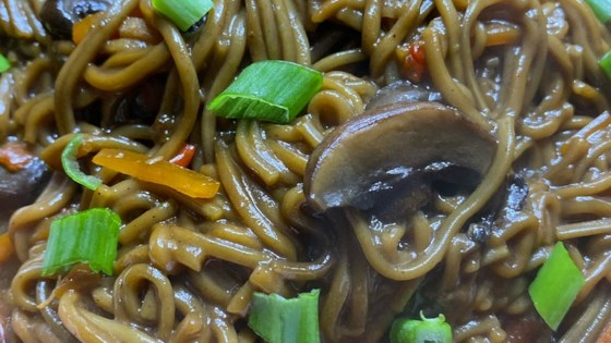 Photo of Instant Pot® Mushroom and Soba Noodle Stir-Fry by thedailygourmet