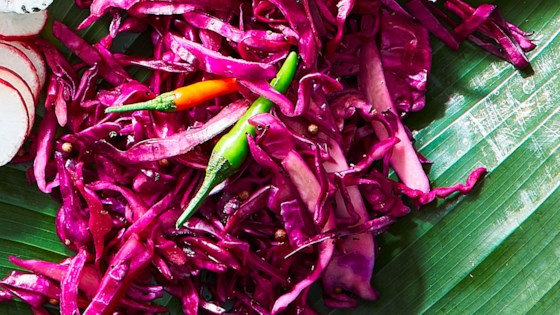 Photo of Quick-Pickled Red Cabbage (Atchara) by Yana Gilbuena