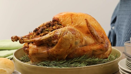 easy beginners turkey with stuffing review by alisha